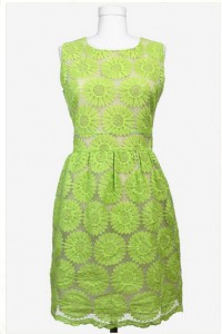 Zinna Lime Green Dress - Red Clover Boutique $48